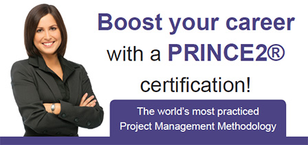Boost your career with a PRINCE2® certification!