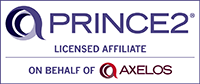 FlexiLern is a PRINCE2 licensed affiliate on behalf of AXELOS