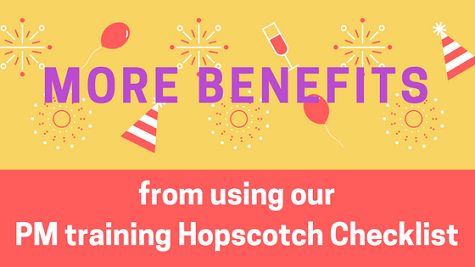 need PM training Hopscotch Checklist Flexilern core benefits