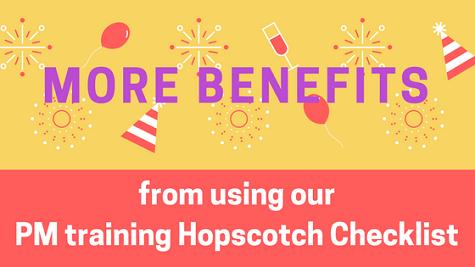 PM training Hopscotch Checklist Flexilern core benefits